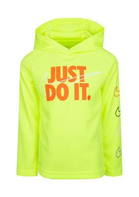 Nike Boys Boys 4-7 Just Do It Thermal Pullover Hoodie