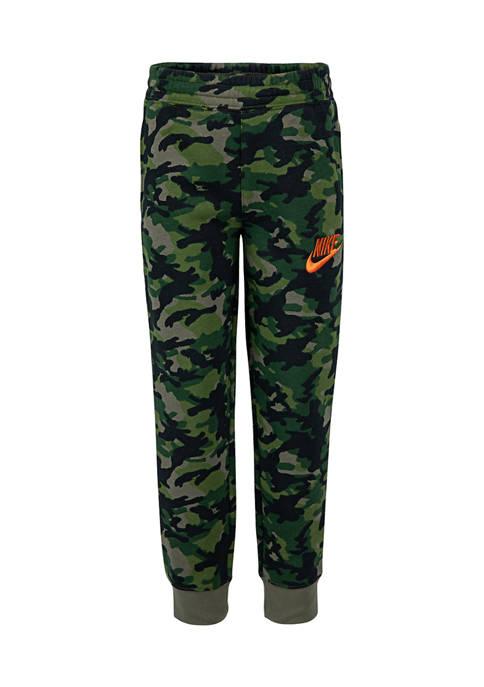 Nike® Boys 4-7 Crayon Camo Allover Print Joggers