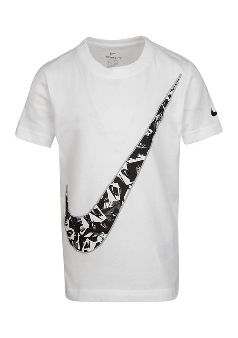 Nike® Boys 4-7 Futura Confetti Short Sleeve T-Shirt
