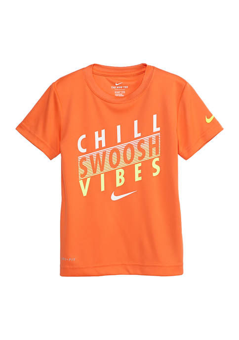 Nike® Boys 4-7 Chill Swoosh Vibes T-Shirt