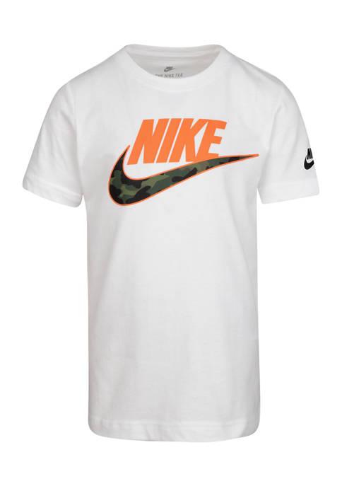 Boys 4-7 Futura Textured Camo Short Sleeve T-Shirt