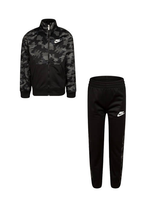 Nike® Boys 4-7 Camo Tricot Set