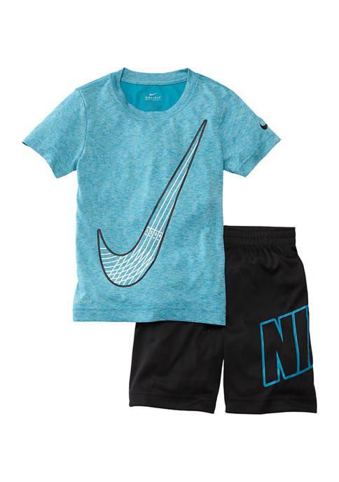 Boys 4-7 2 Piece T-Shirt and Shorts Set