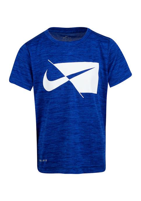 Nike® Boys 4-7 Short Sleeve Swoosh Graphic T-Shirt