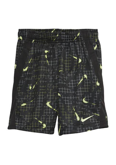 Boys 4-7 Glow in the Dark Logo Shorts
