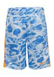 Boys 4-7 Swish Splash Allover Print Swim Shorts