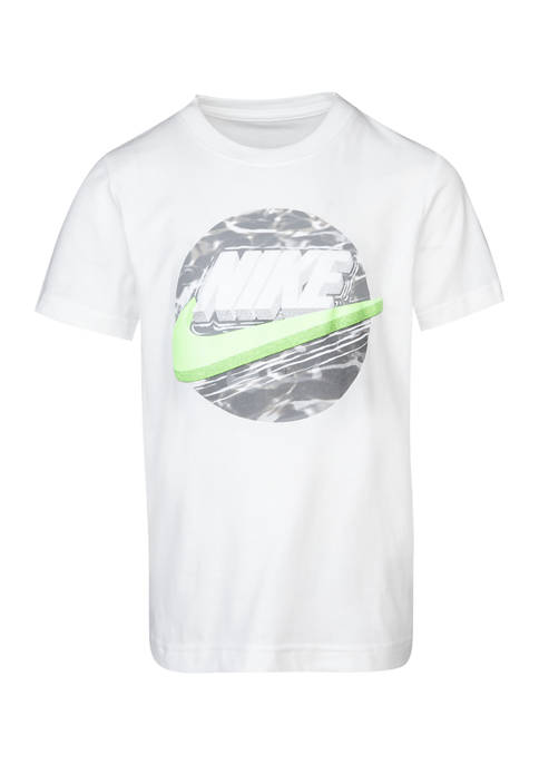 Nike® Boys 4-7 Futura Tide Pool Short Sleeve
