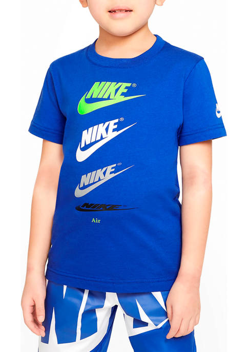 Nike® Boys 4-7 Cascading Logo Graphic T-Shirt