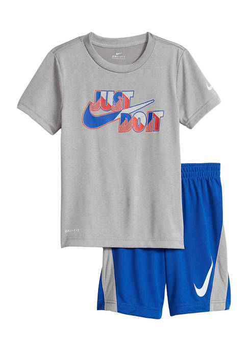 Boys 4-7 Just Do It T-Shirt and Shorts Set