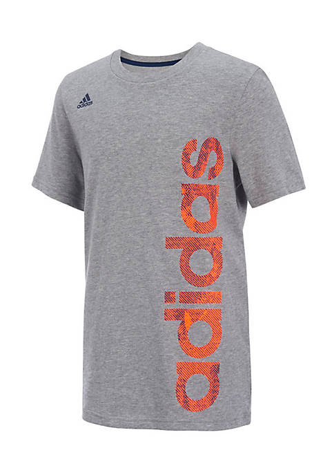 adidas Short Sleeve Supreme Speed Linear Tee Boys