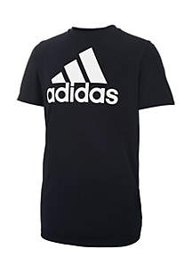 Boys 8-20 Short Sleeve Climalite® Performance Logo Tee