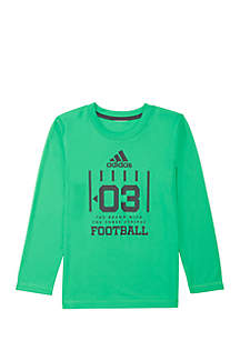Boys 4-7 Long Sleeve Climalite® Game Graphic T-Shirt