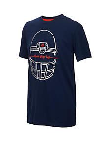Boys 8-20 Short Sleeve Helmet Tee