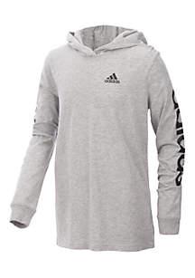 Boys 8-20 Branded Sleeve Hoodie