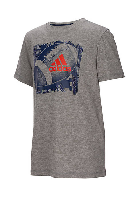 adidas Boys 8-20 Short Sleeve Climalite Collage Sport