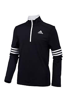 adidas Boys 8-20 Long Sleeve Pursuit Half-Zip Pullover