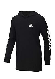 Boys 4-7 Branded Adidas Sleeve Hoodie