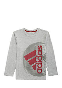 adidas Toddler Boys Long Sleeve Climalite® Active Sport Ball Tee