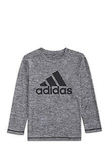 Boys 8-20 Long Sleeve Climalite® Logo Graphic Tee