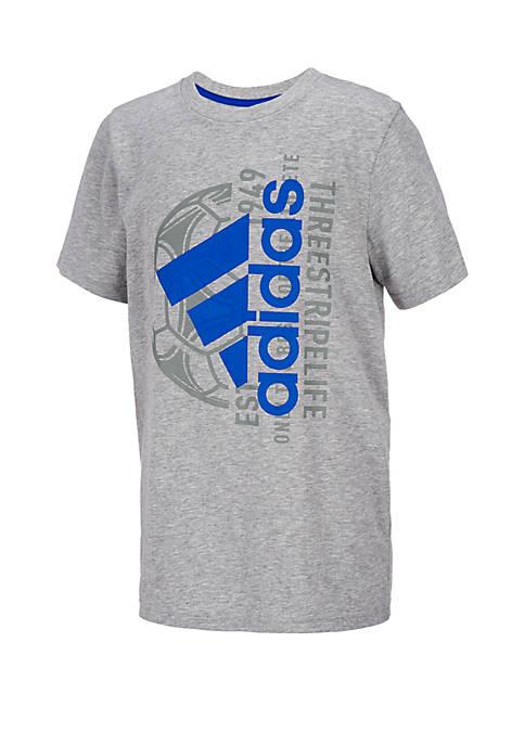 adidas Boys 8-20 Short Sleeve Mantra Tee