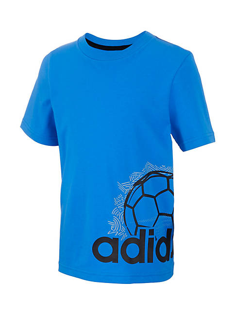 adidas Boys 2-7 Doodle Sports Ball Wrap Graphic