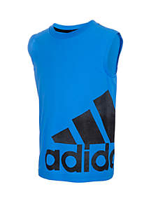 adidas Boys 2-7x Fushion Logo Wrap Tank