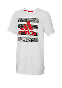 adidas Boys 2-7x Graphic Hacked Sport Tee