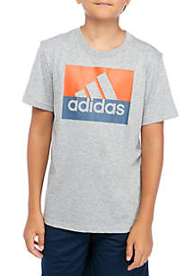 adidas Boys 8-20 Short Sleeve T-Shirt