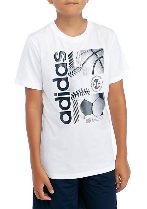 Boys 8-20 Multi Sport Short Sleeve Graphic T-Shirt