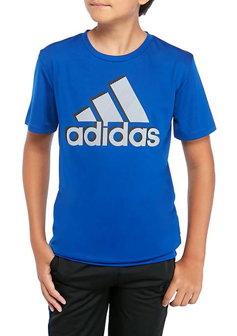 adidas Boys 8-20 Shadow Boss Short Sleeve T