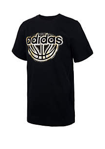 adidas Boys 8-20 Block Boss Short Sleeve T Shirt
