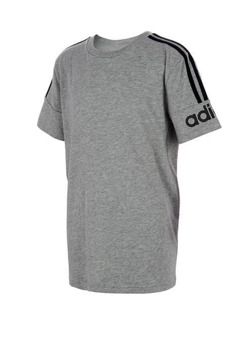 adidas Boys 8-20 Core Heather T-Shirt