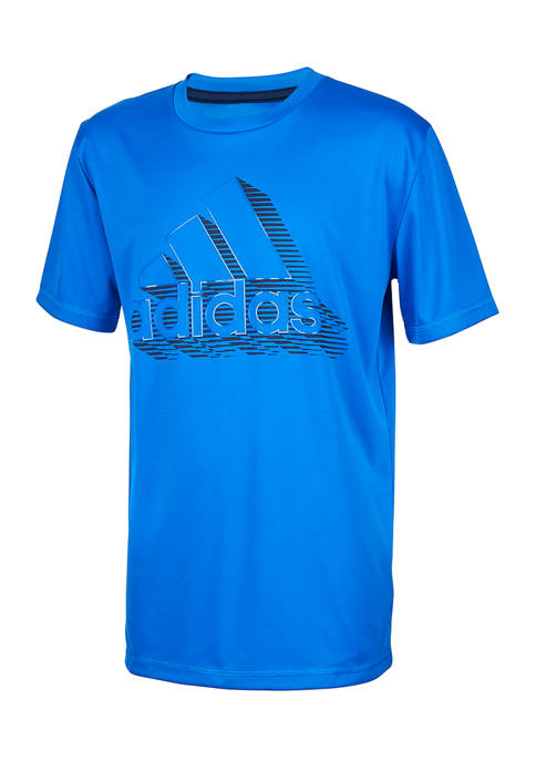 adidas Boys 8-20 Speed Lines Graphic T-Shirt
