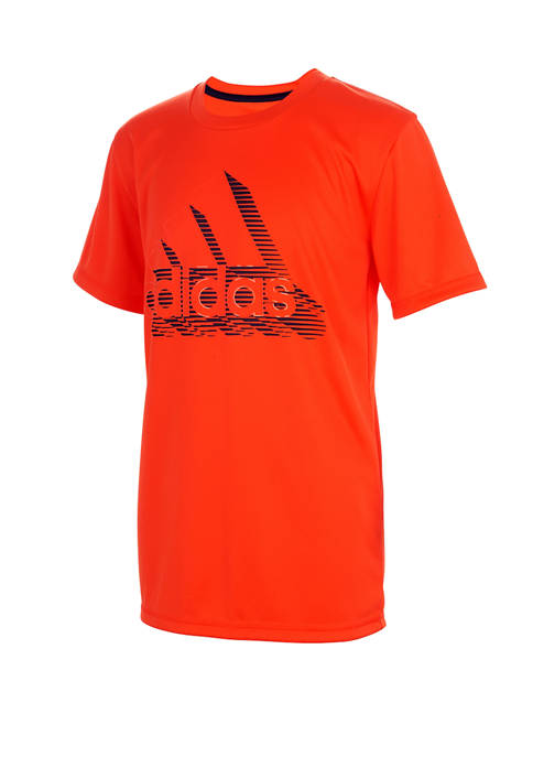 adidas Boys 8-20 Speed Lines Graphic T-Shirt