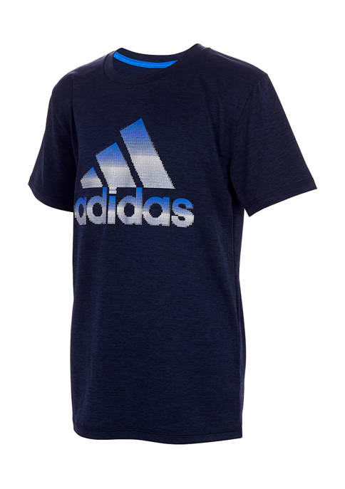 adidas Boys 8-20 Pixel Polyester Graphic T-Shirt