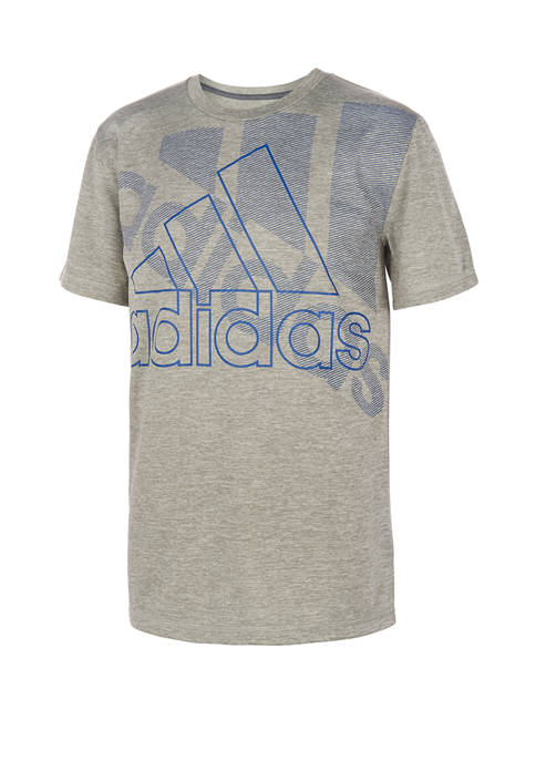 adidas Boys 8-20 Short Sleeve Statement Graphic T-Shirt
