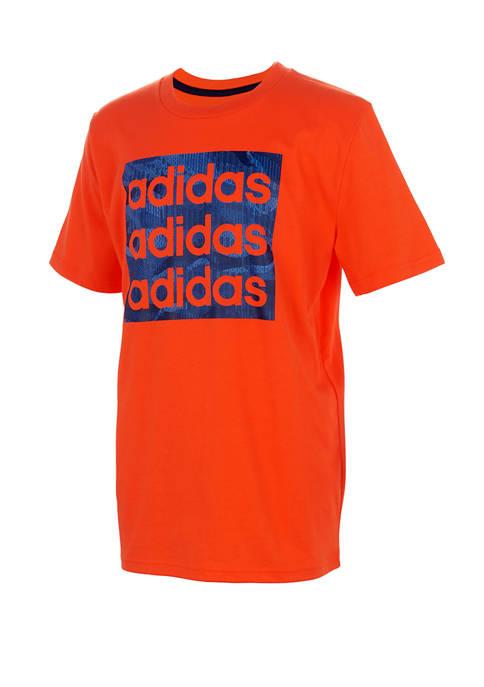 adidas Boys 8-20 Graphic T-Shirt