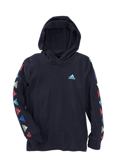 Boys 4-7 Hooded T-Shirt