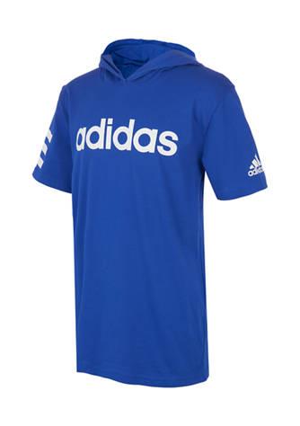 adidas Boys 8-20 Cotton Graphic Hooded T-Shirt | belk