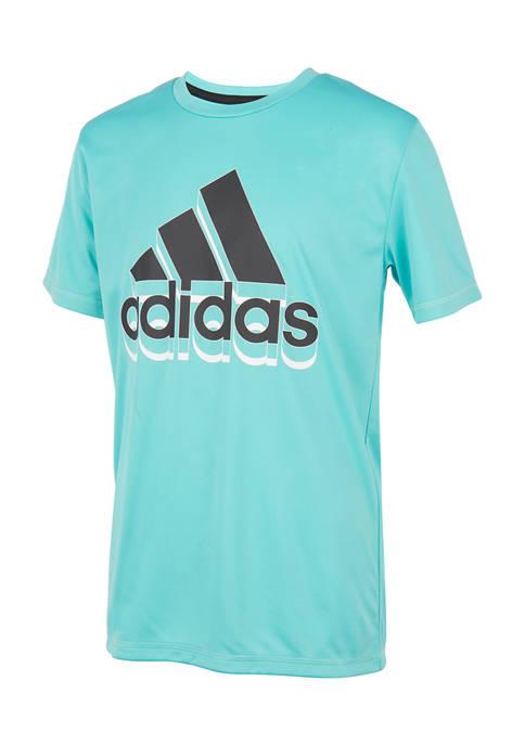 adidas Boys 4-7 Shadow T-Shirt