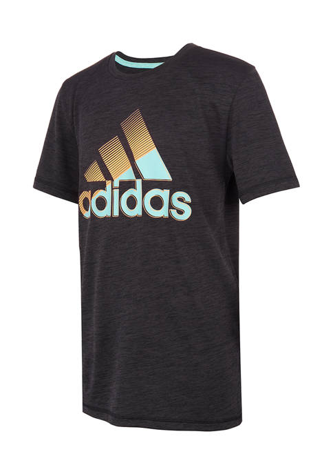 adidas Boys 8-20 Sliced Badge of Sport T-Shirt