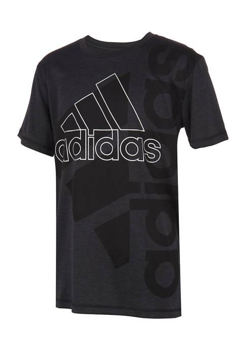 Boys 8-20 Double Logo Graphic T-Shirt