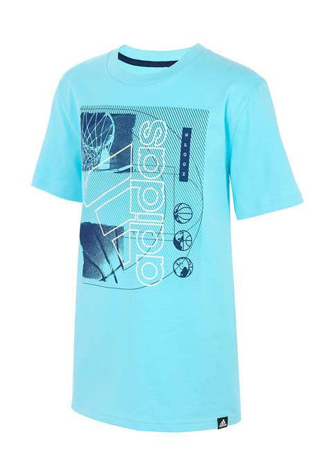 adidas Boys 8-20 Baller T-Shirt