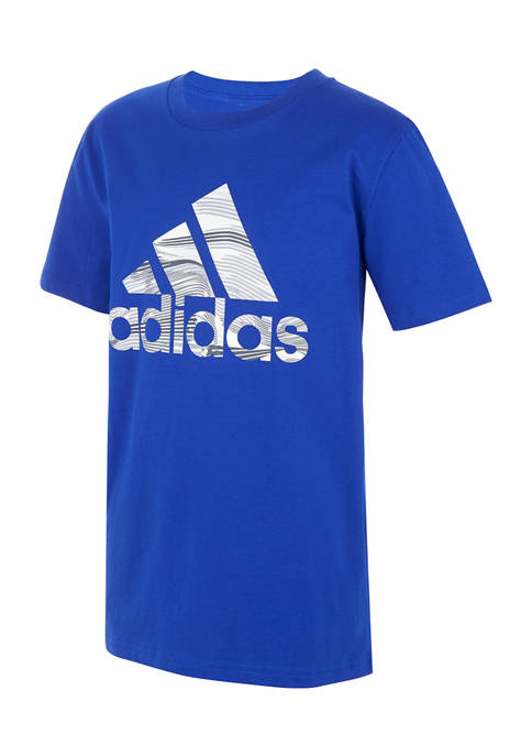 adidas Boys 8-20 Warped Camo Badge of Sport