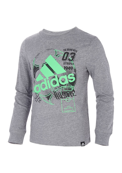 adidas Boys 8-20 Sports Vibes T-Shirt