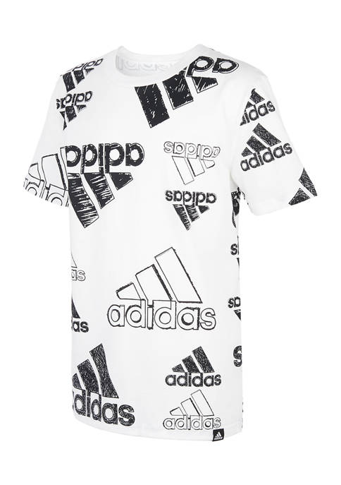 adidas Boys 8-20 Brand Love Graphic T-Shirt