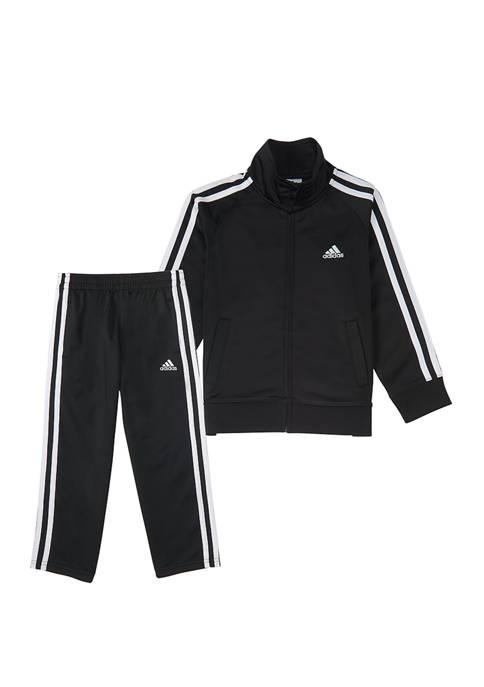 adidas Boys 4-7 Tricot Set