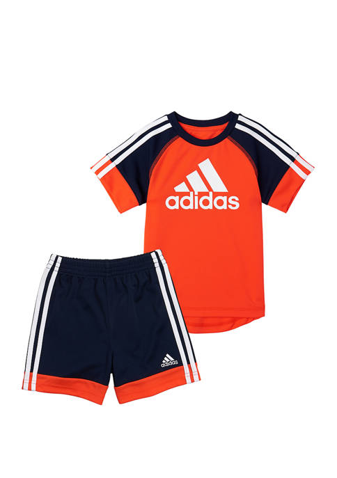adidas Boys 4-8 Urban Sport Graphic T-Shirt and