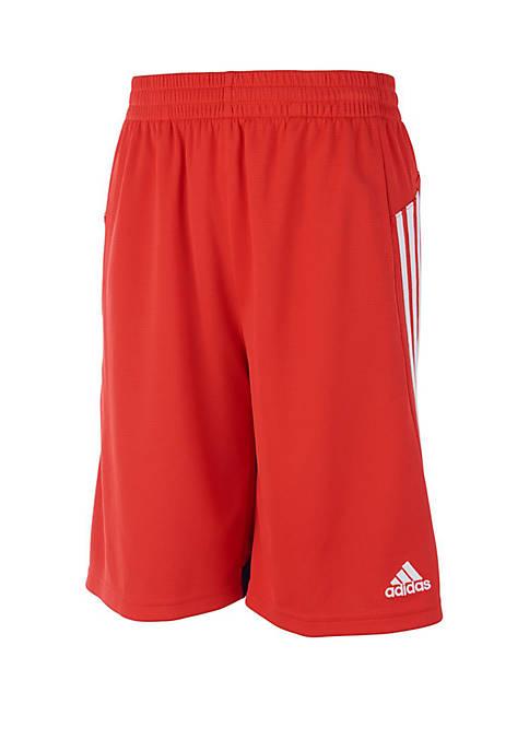 adidas Boys 2-7 3 Stripe Shorts