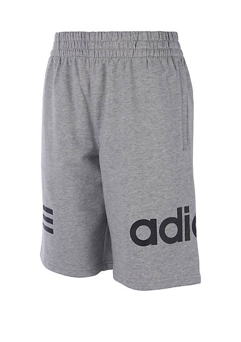 adidas Boys 8-20 French Terry Shorts